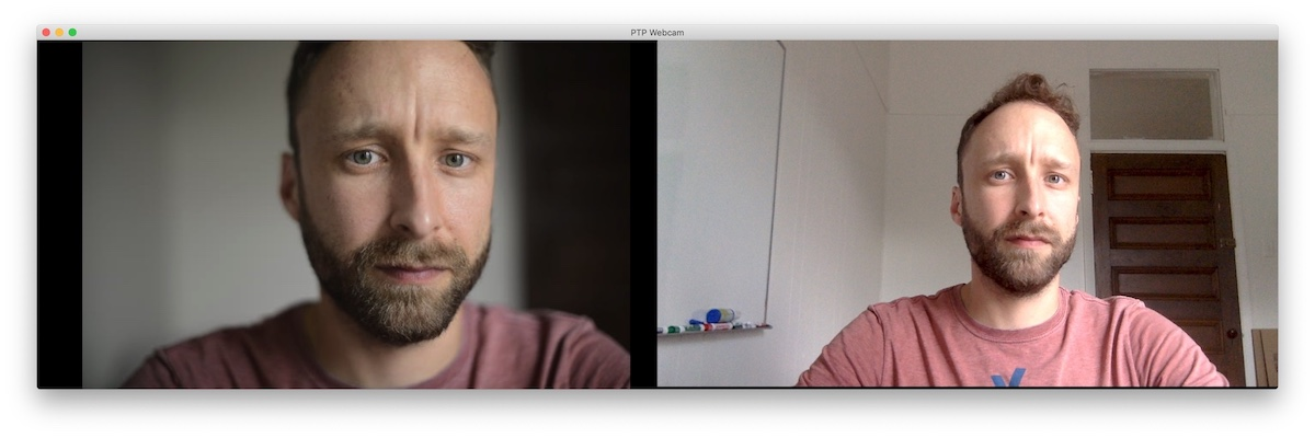 PTP Webcam Comparison